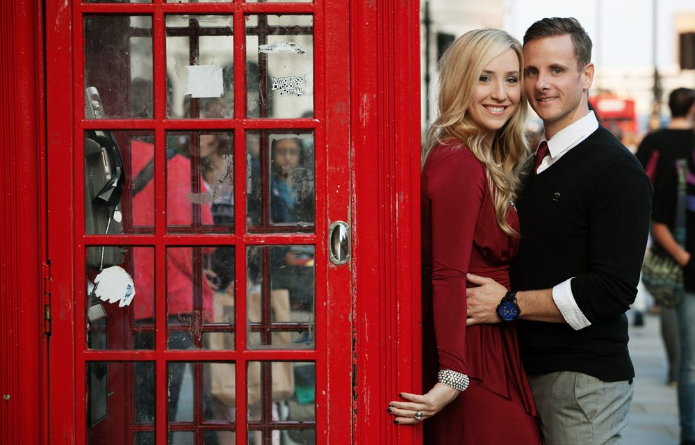 Like Scenes From A Movie: Romantic Anniversary in London
