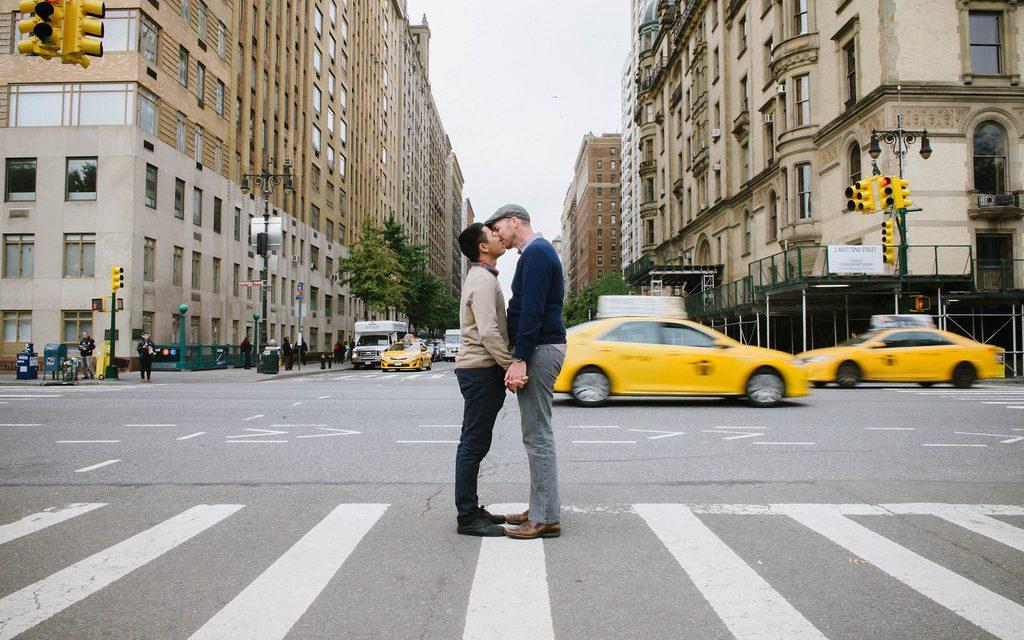 Honeymoon Memories Captured in Central Park