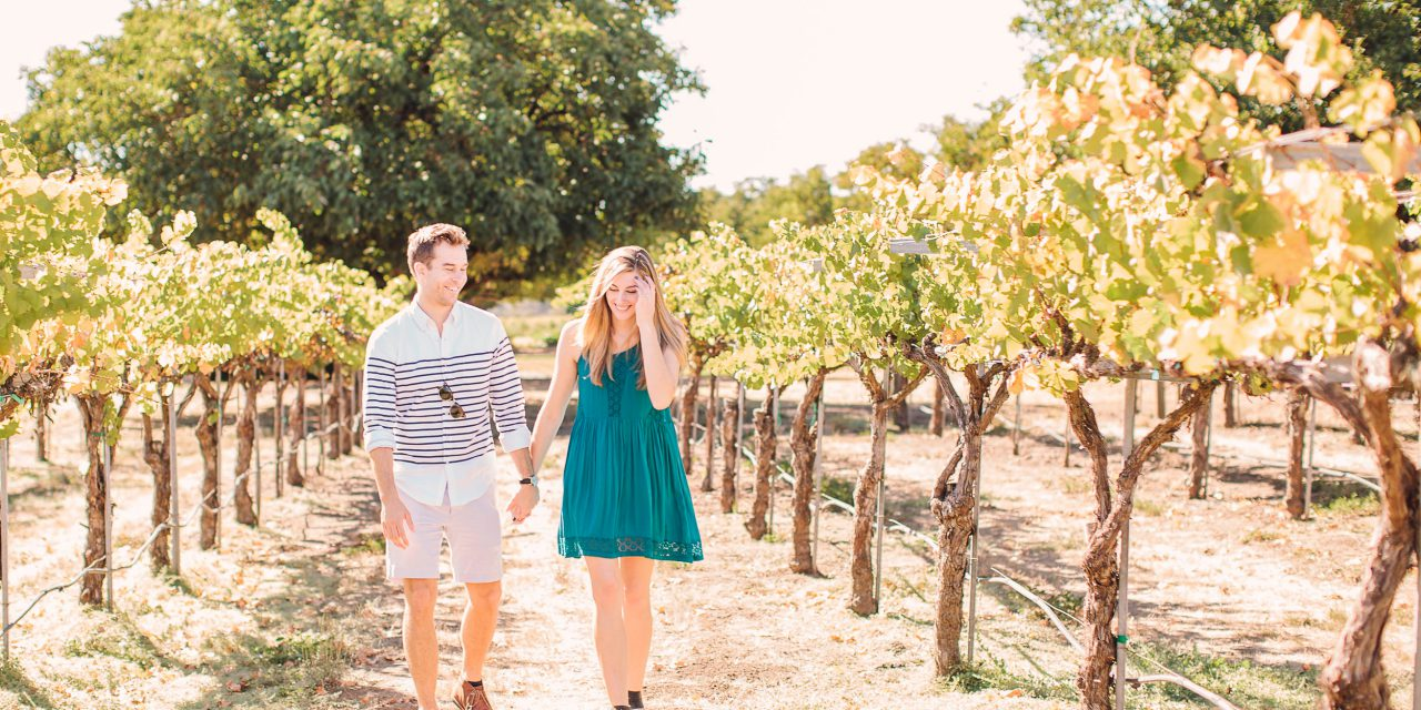 Saying Yes Amongst The Vines in Sonoma