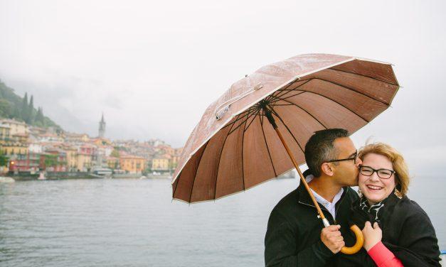 Rain or Shine in Lake Como