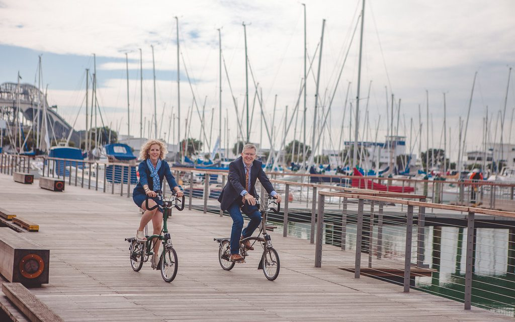 Birthdays & Bicycles in Auckland