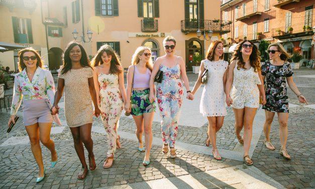 Bachelorette Bash in Lake Como