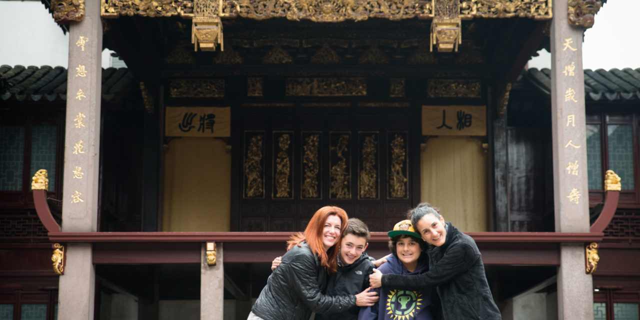 Family Adventure in Shanghai with Ciao Bambino