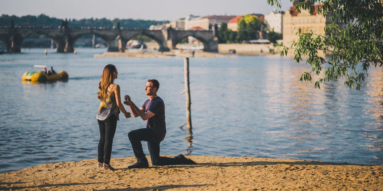 A Heartwarming Prague Proposal