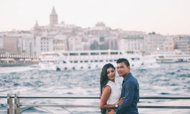 Honeymoon Love in Istanbul and Barcelona