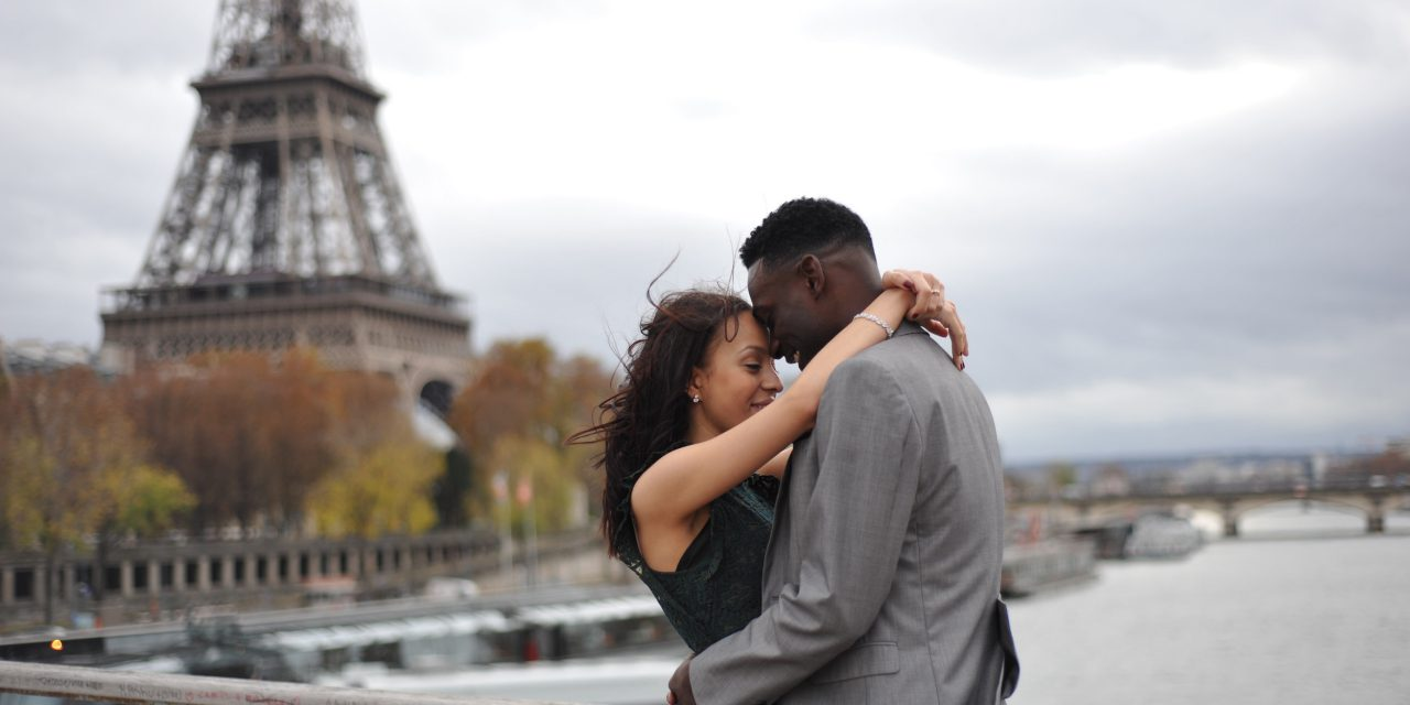 Picture Perfect Proposal in Paris