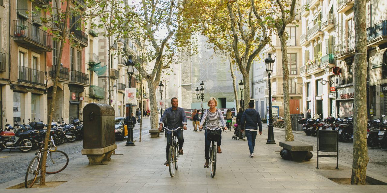Bicycling Through Barcelona with The Pedaler Cycle Tours