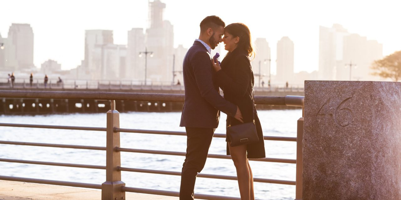 A New York City Skyline Surprise Proposal