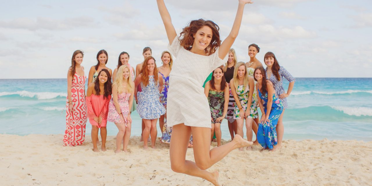 How She Bached – 'How He Asked' Founder Stacy Tasman's Bachelorette Shoot in Cancun!