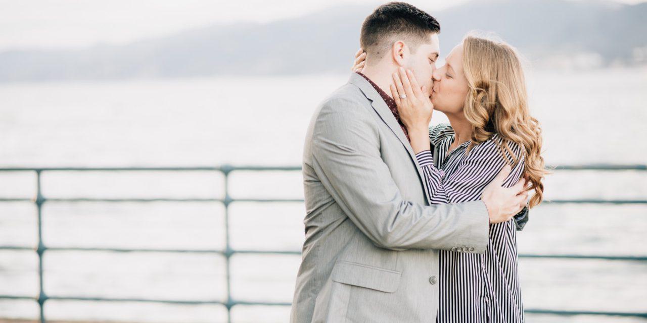 Surprise Proposal on the Santa Monica Pier | Los Angeles