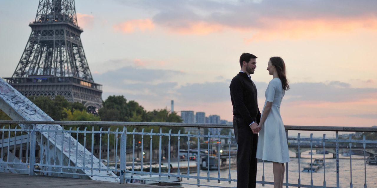 A Romantic Paris Engagement