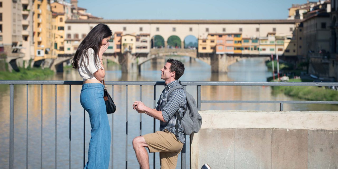 A Fairytale Proposal in Florence