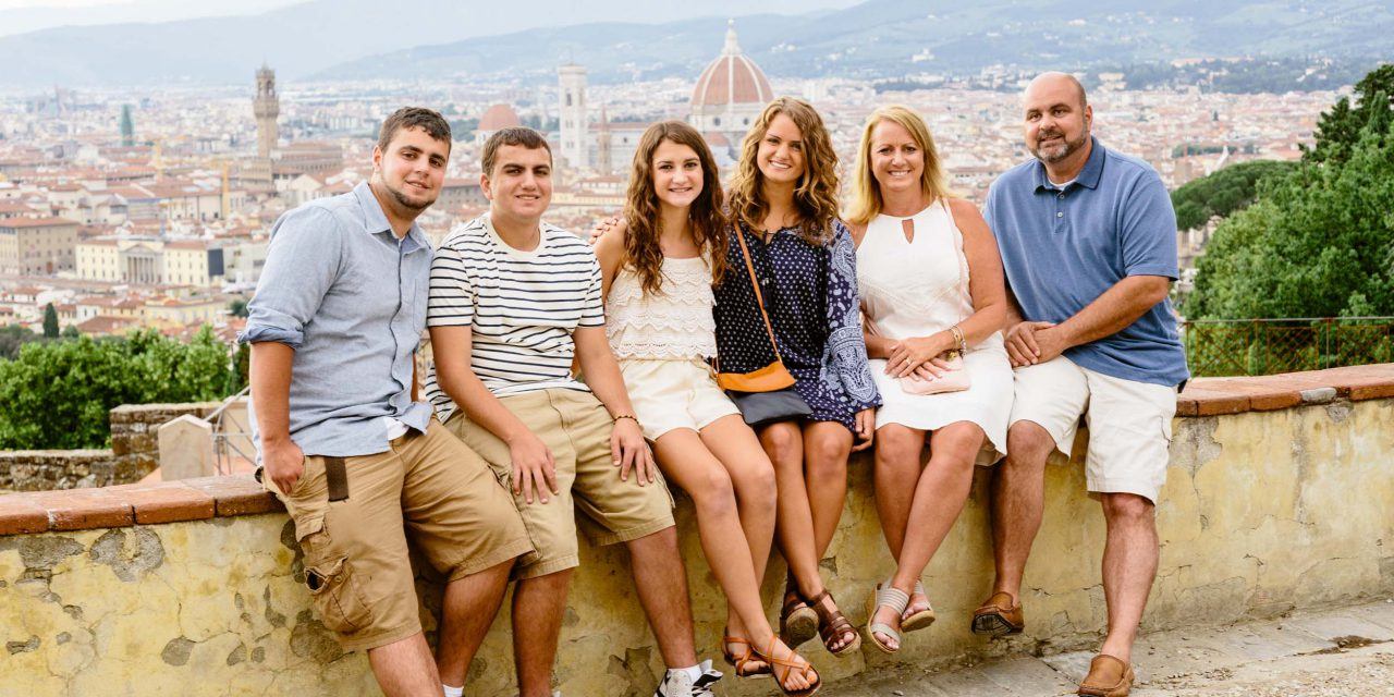 A Budding Chef and His Family Visit Florence