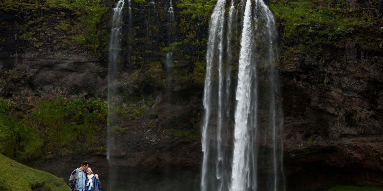 A Breathtaking Waterfall Proposal in Iceland