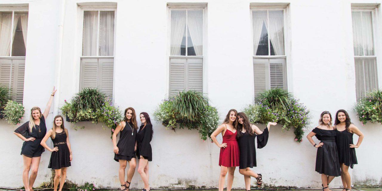 A Sparkling Surprise Charleston Bachelorette Party