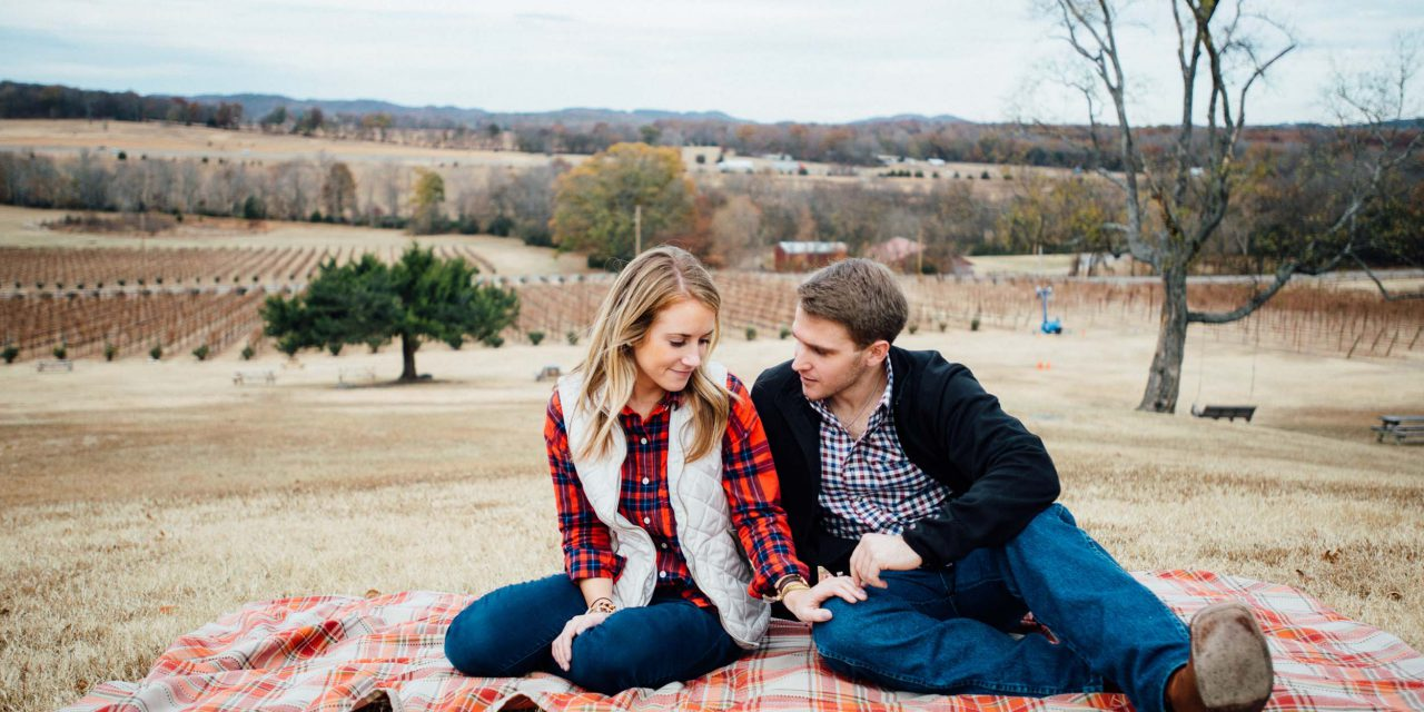 A Romantic Nashville Winery Proposal
