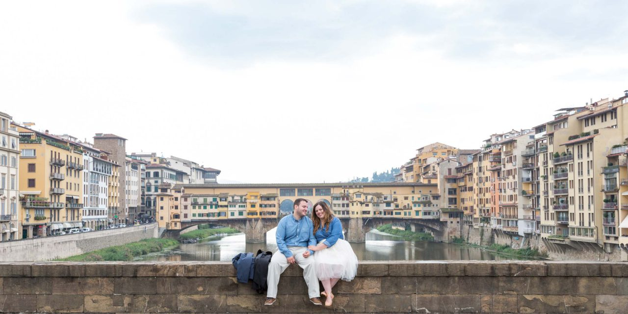 A Romantic Post-Engagement Getaway to Florence