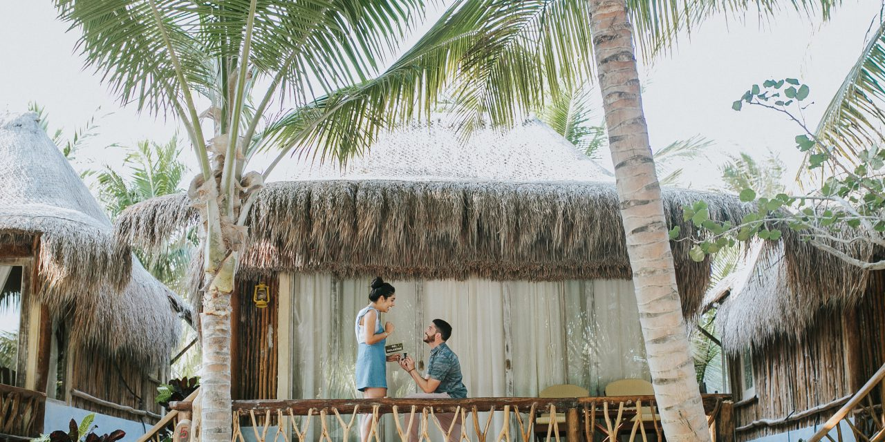 A Dream Come True Proposal in Tulum