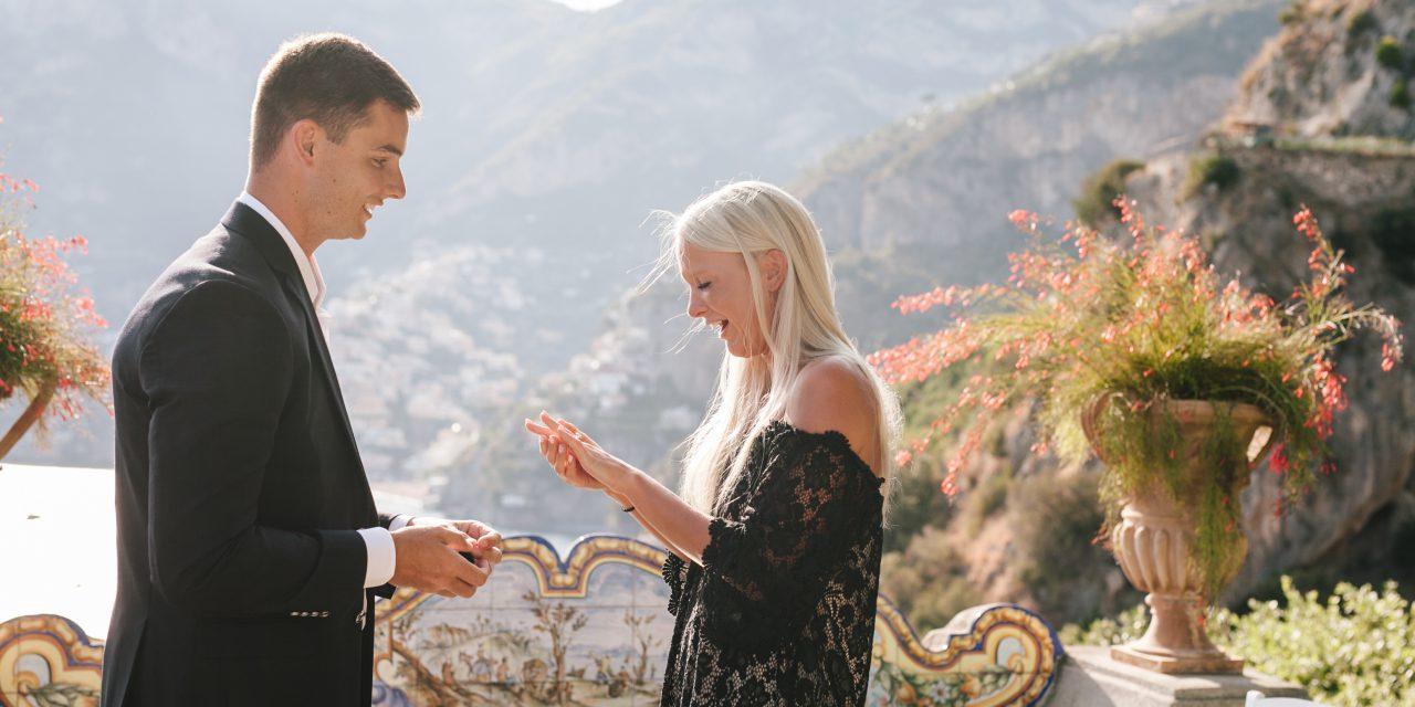 Our Favourite Amalfi Coast Proposal Moments