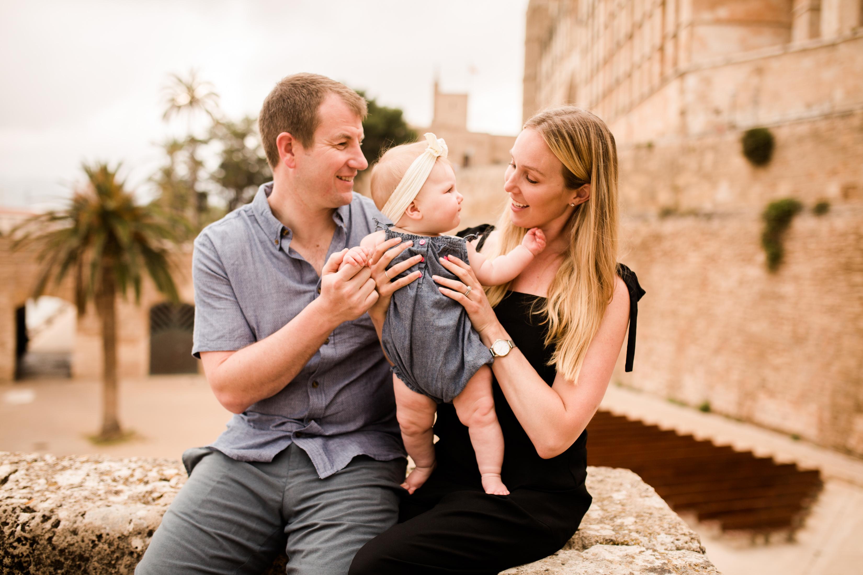 Family in Mallorca