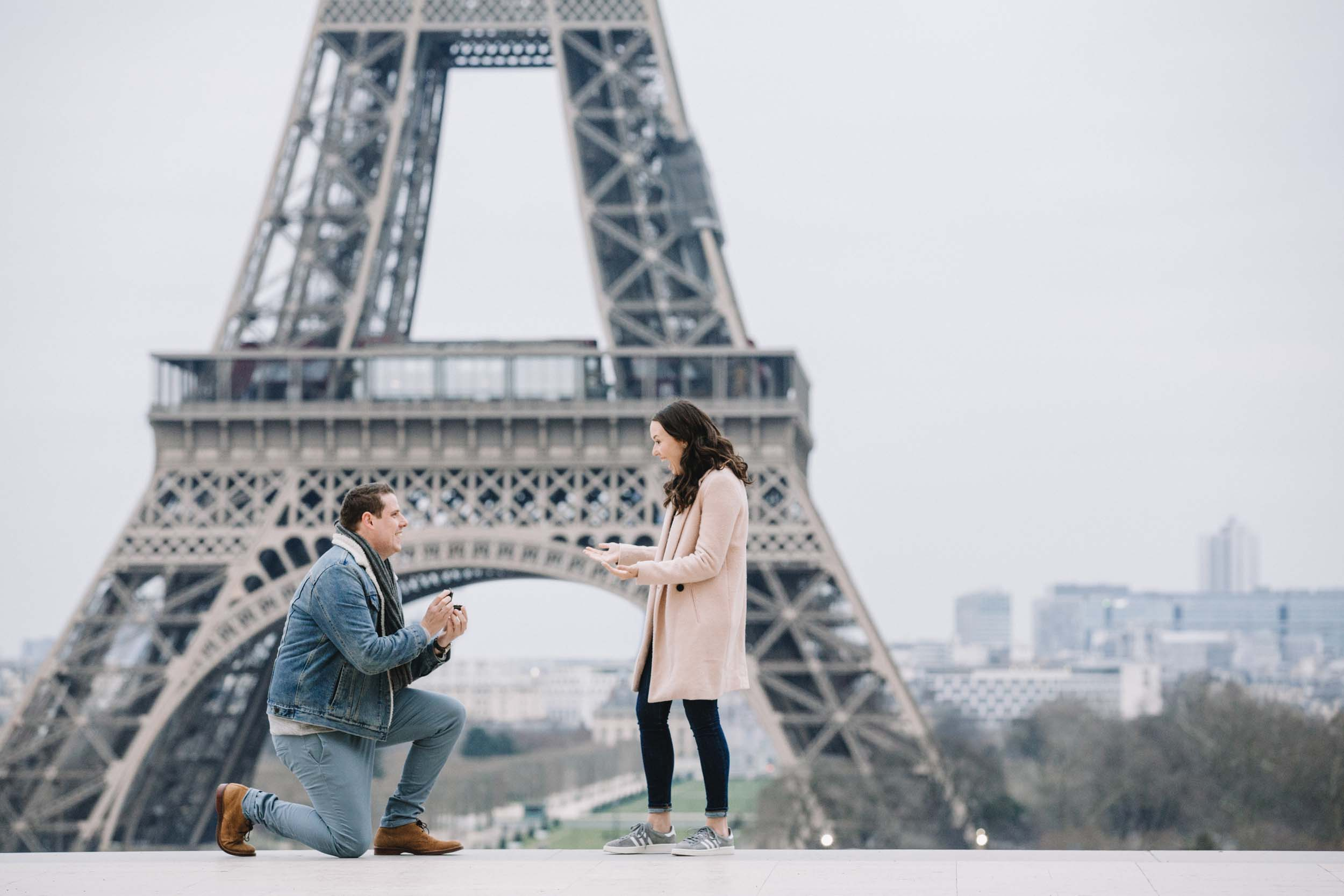 From Long Distance Love to a Dream Eiffel Tower Proposal