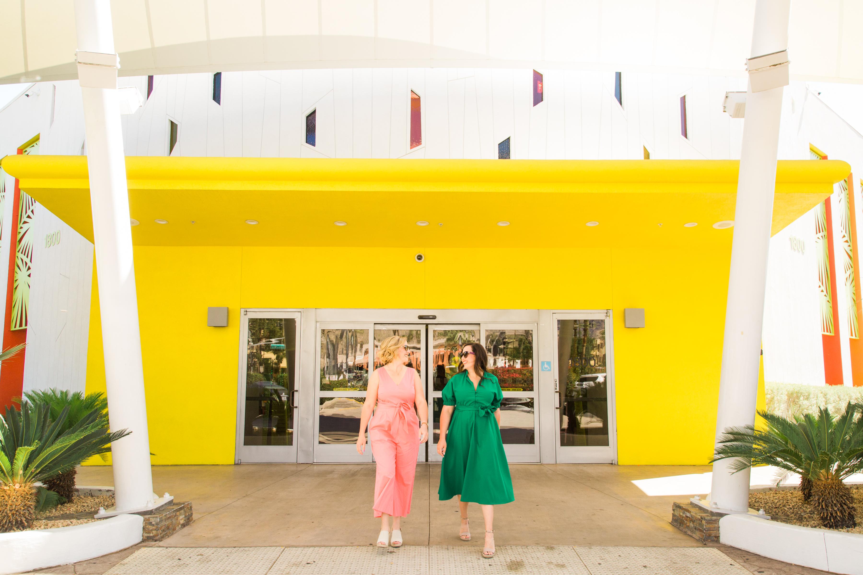 Sisters in Palm Springs