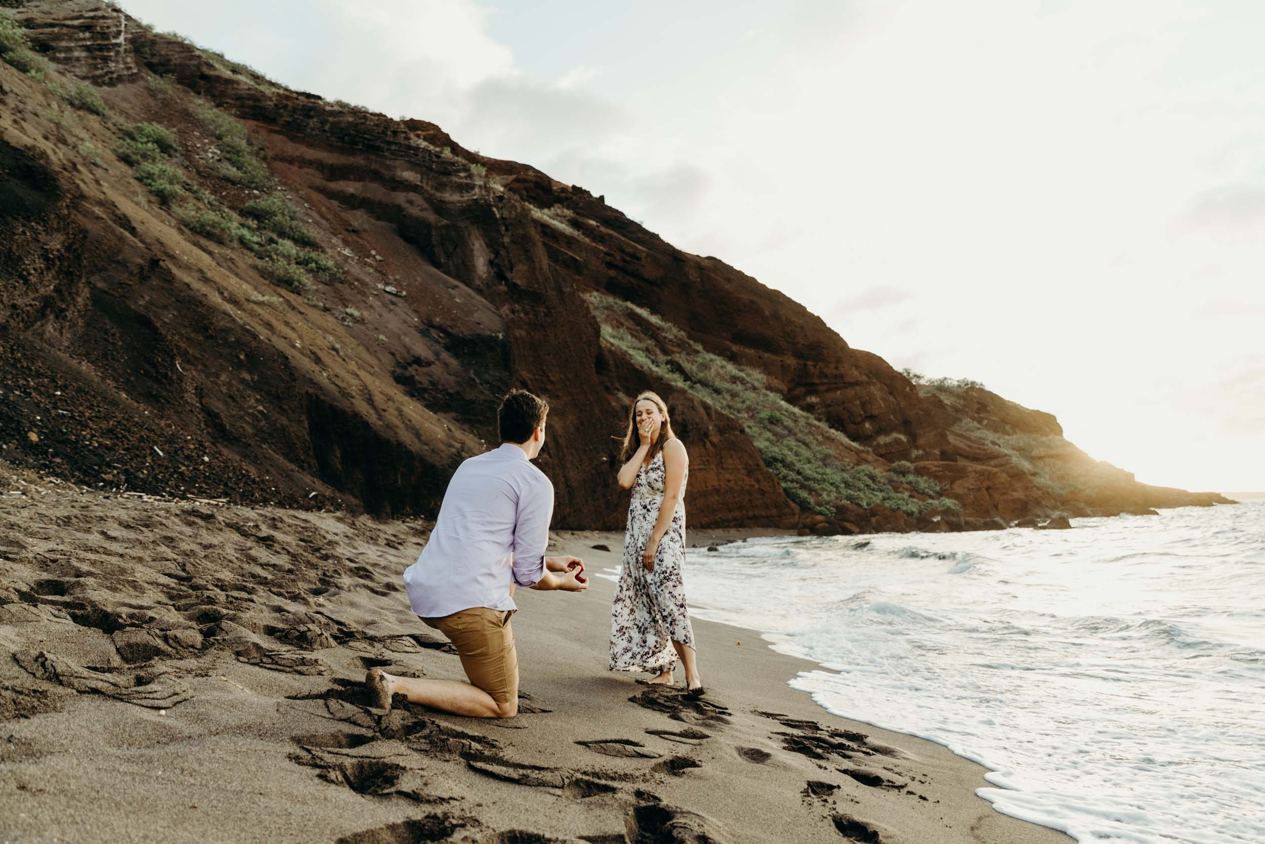 This Adorable Maui Proposal Is Everything